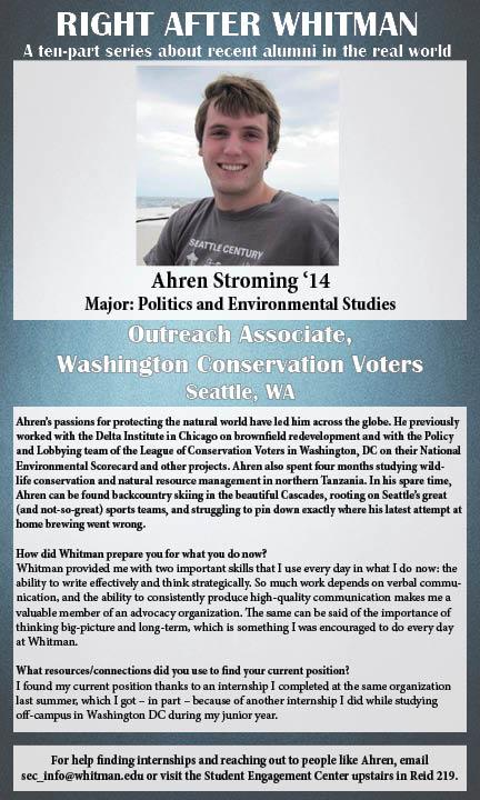 Ahren Stroming