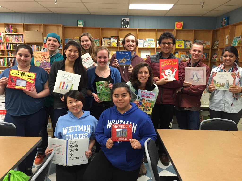 The group at Children's Book Bank!