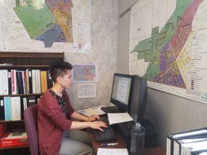 Summer Intern Devon Yee 18 Analyzes Data For The City Of Walla In WW WA