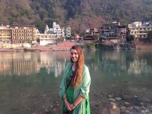 At the Ganges.