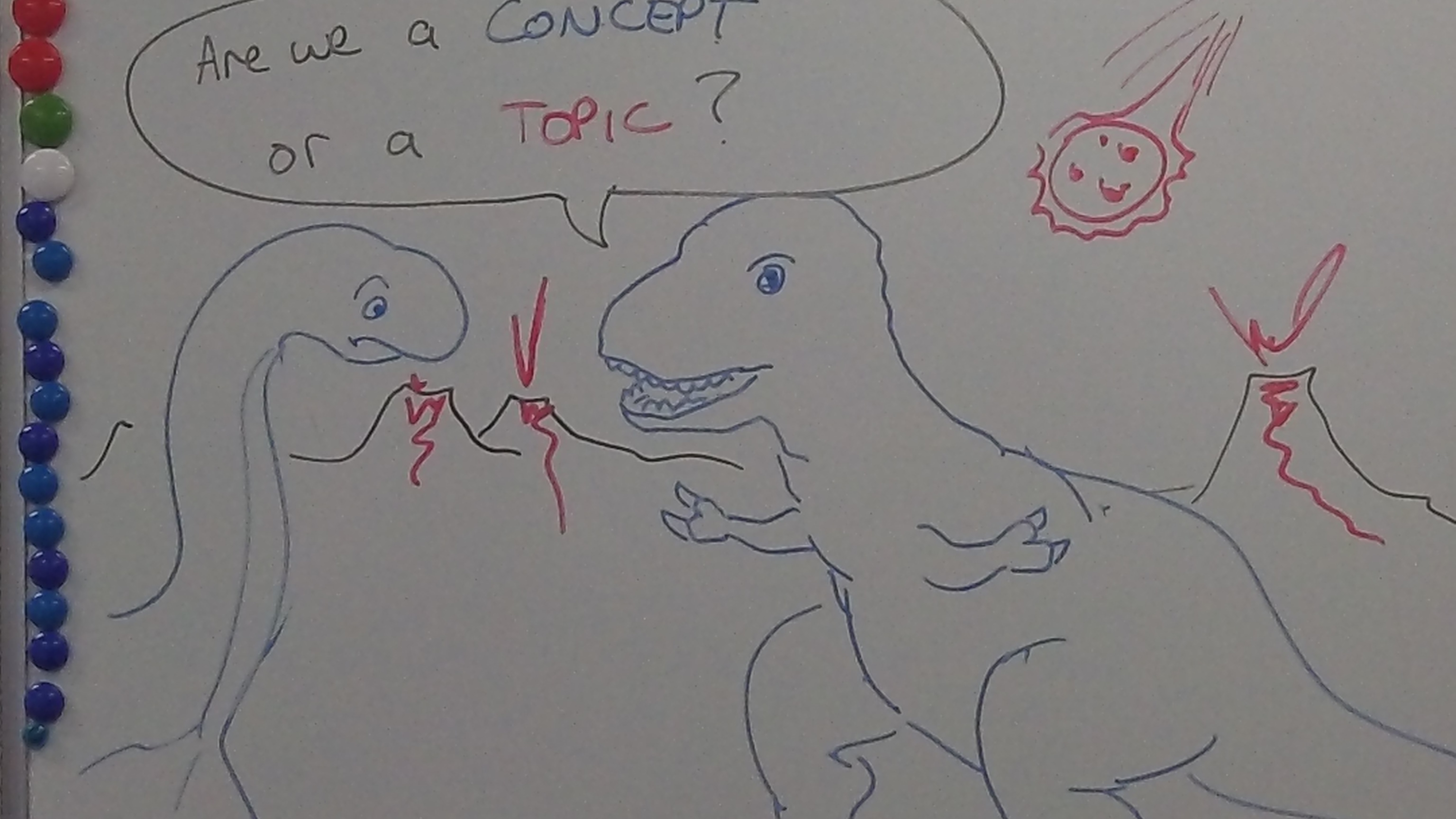 dinosaur analogy