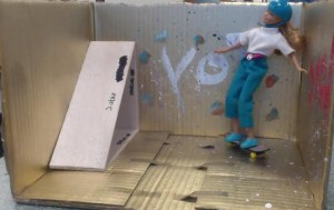 Skatepark Barbie
