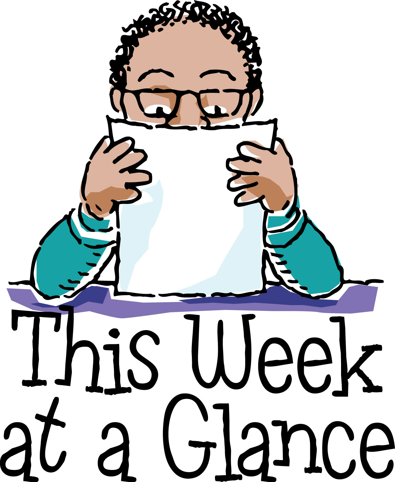 Image result for week at a glance clipart