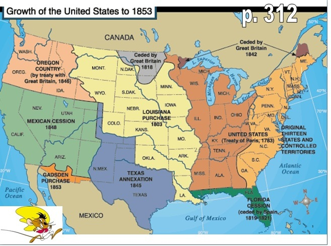 manifest destiny map