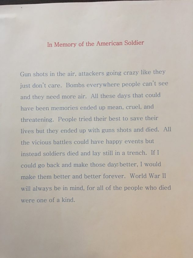 band of brothers essay