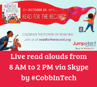 3rd Annual Read for the Record Skype A Thon