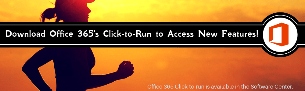 Run to Download Office 365 Click to Ru