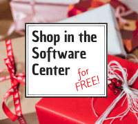Shop the Software Center for free