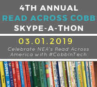 4th Annual Read Across Cobb Skype-A-Thon