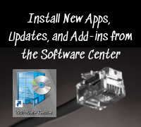 Stay Current with Updates from the Software Center