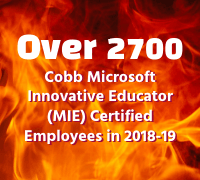 Over 2700 Cobb MIE Certified in 2018-19