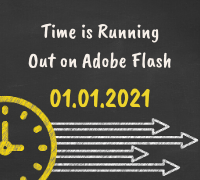 Time is running out on Adobe Flash.