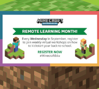 Minecraft Remote Learning