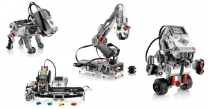 Robots that can be built with EV3