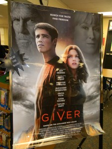 Official movie poster for The Giver