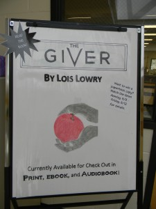 The DMC is giving away copies of Lois Lowry's The Giver!