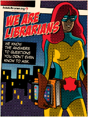 Librarians are Superheros!