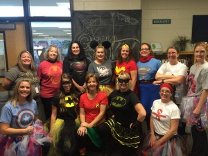 Sixth grade teachers are superheros every day, not just on Halloween.