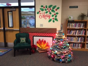 Cozy up by the fire and our book tree and enjoy a good read this holiday season!