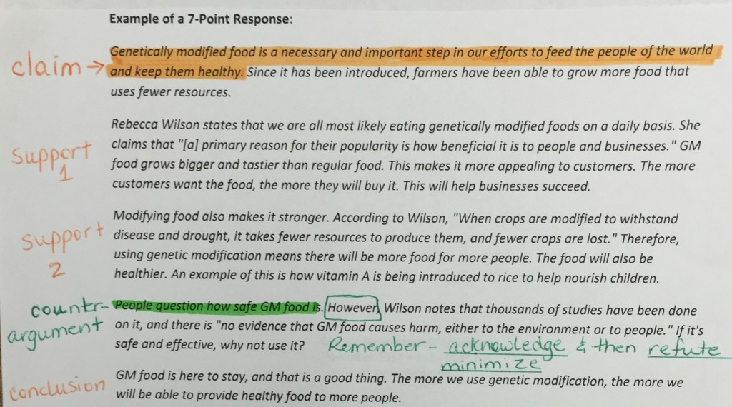 genetically modified food 12 essay Writing sample of essay on given topic genetically modified food.