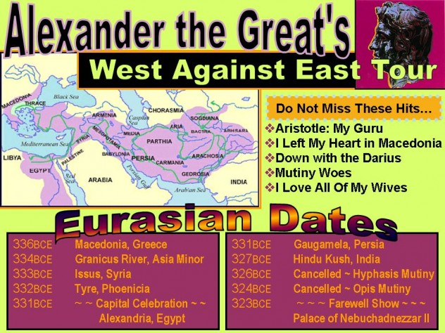 Alex the Great Eurasian Tour