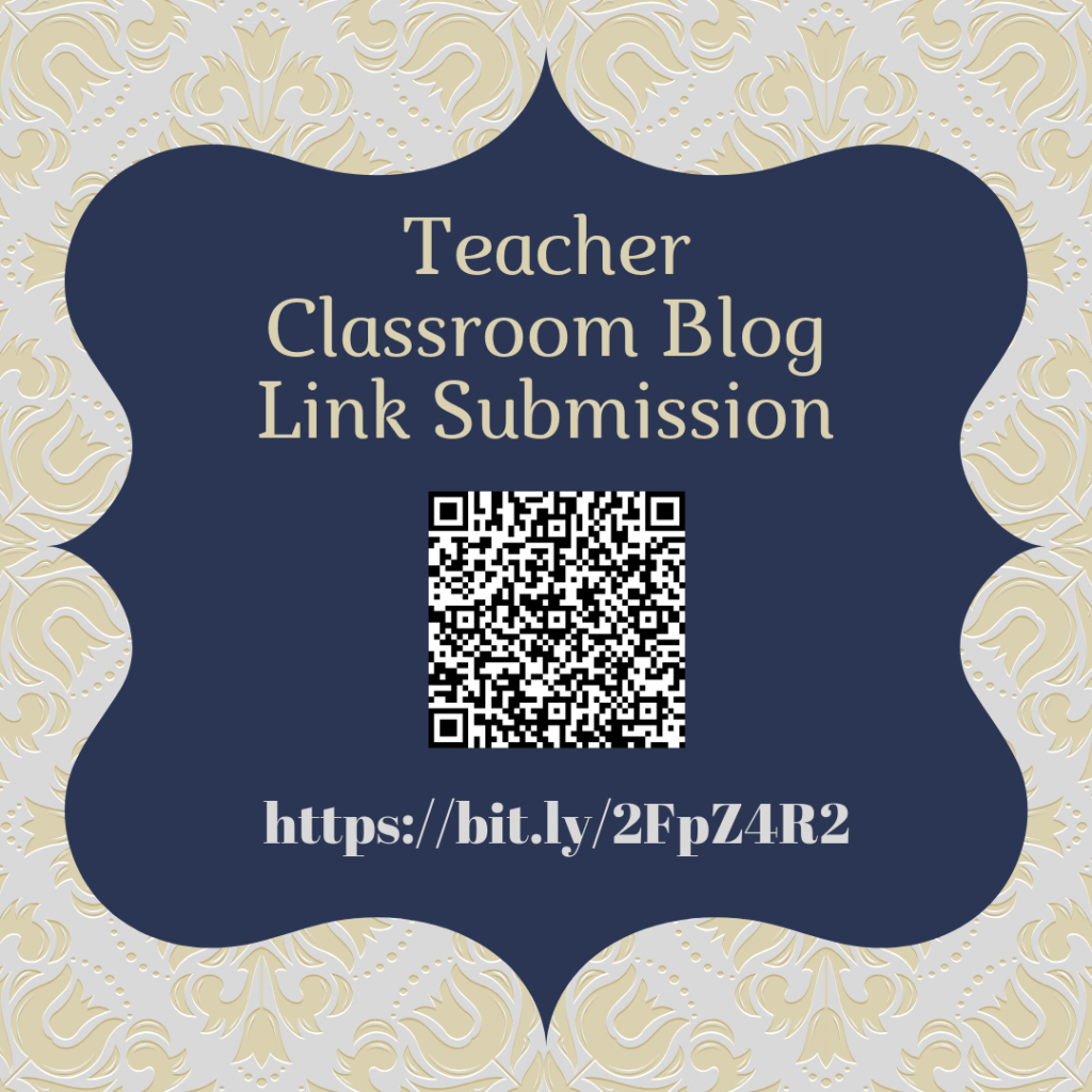Teacher Blog Link Submission