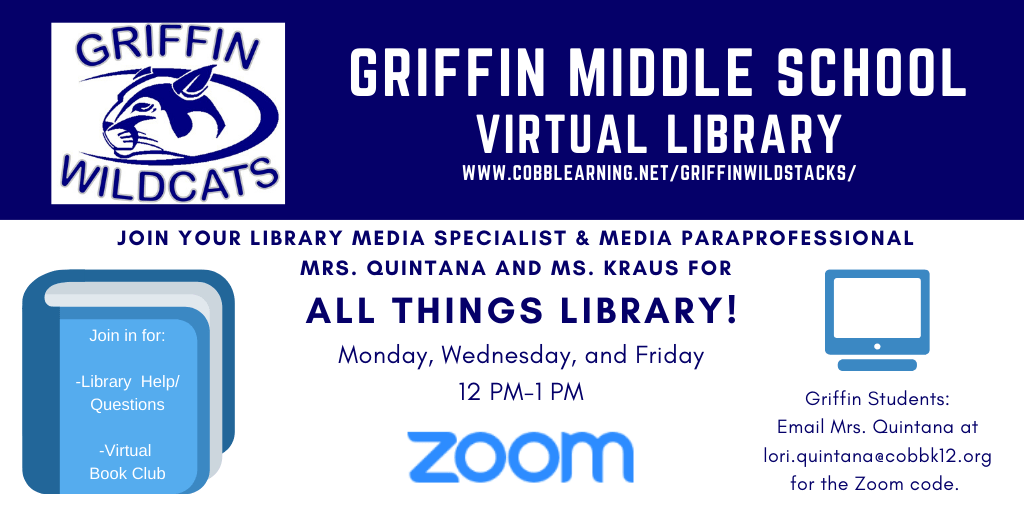 Griffin Zoom Library Chats