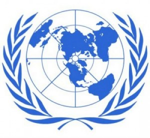 The UN logo is very symbolic.  In your webquest you will find out what it symbolizes.