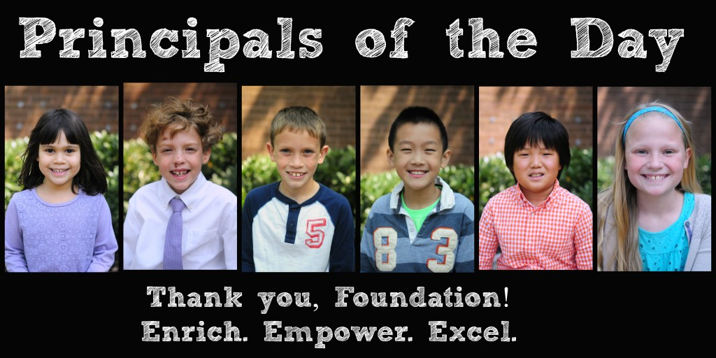 Principals of the Day