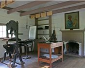 New Echota Printshop Interior-sm