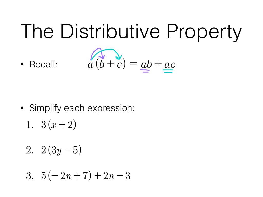 Worksheet 2 1 combining like terms and distributive property