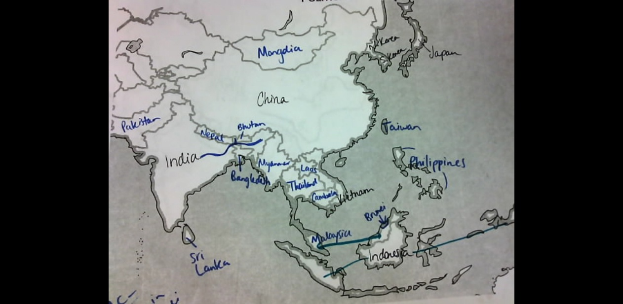 SE Asia Map Test Study Guides – Asia Map Test