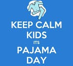 keep calm its pj day