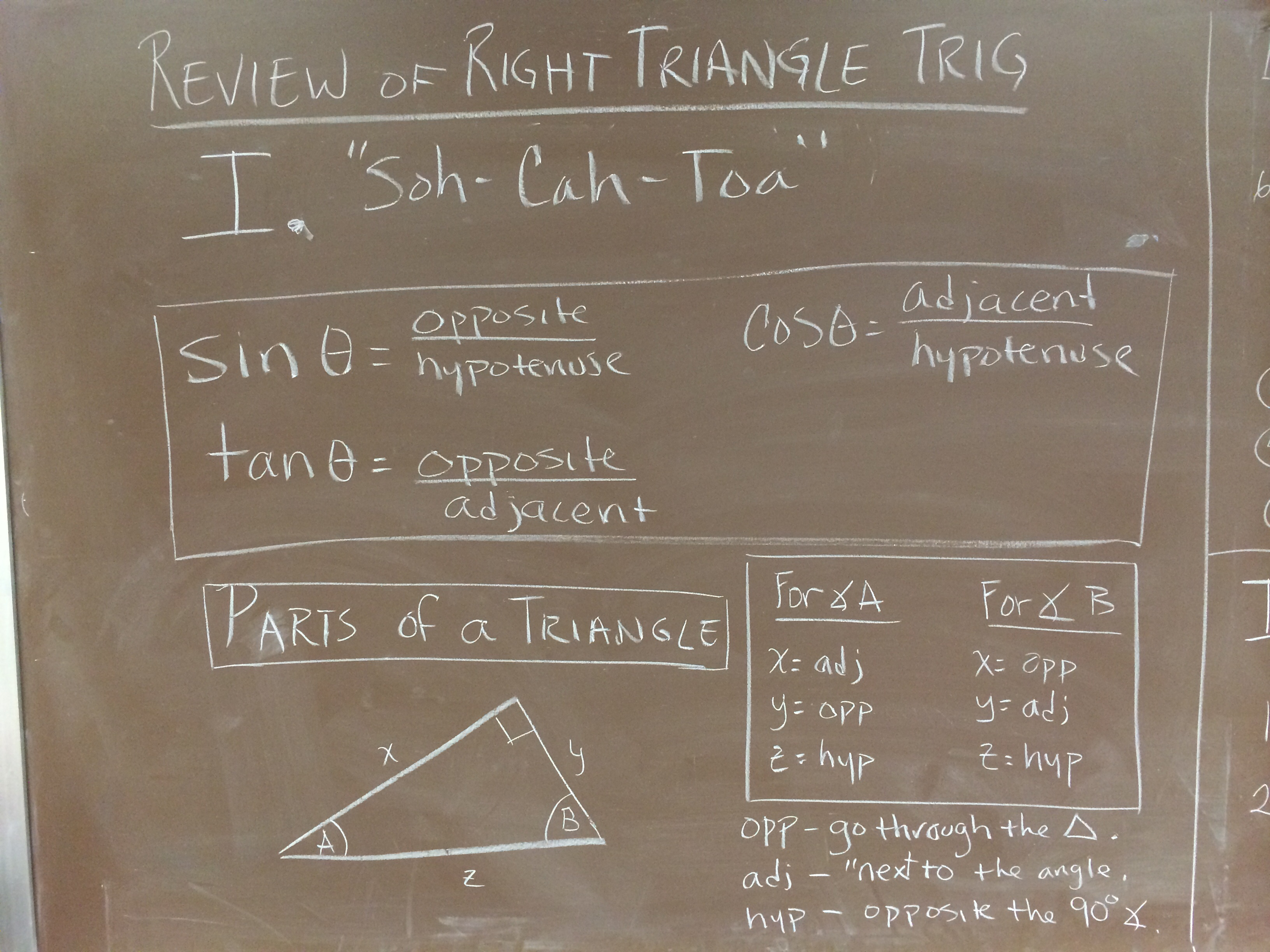 Precalculus Unit 03 - Introduction to Unit Circle Trigonometry