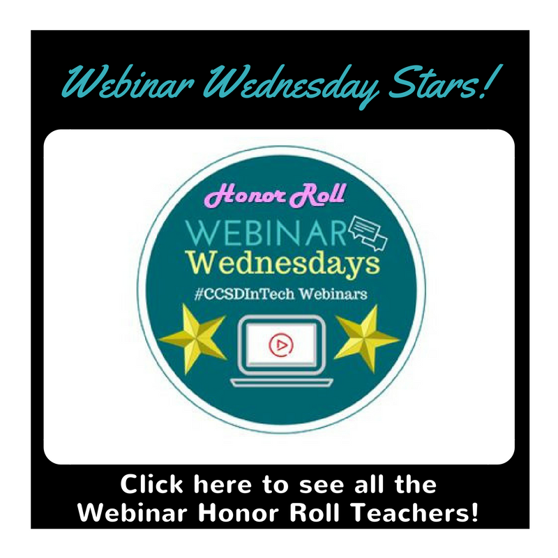 Webinar Honor Roll
