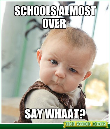 Image result for funny school meme end of year
