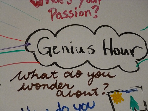 Genius Hour on Board