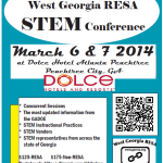 Flyer West GA RESA STEM flyer