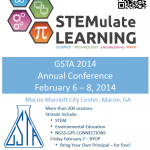 GSTA Conference 2014 Flyer Macon, GA