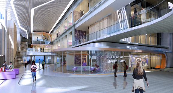 College of Engineering Interior Rendering