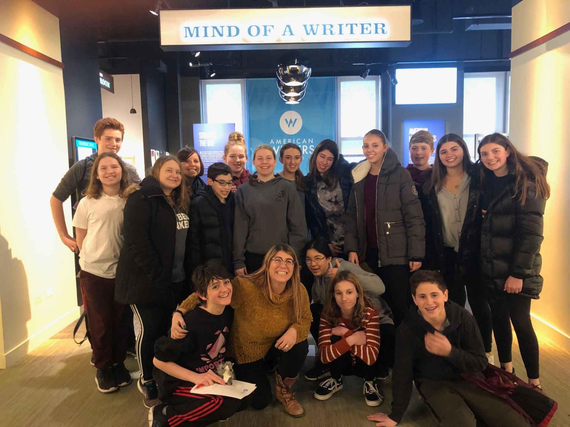 Amazing field trip to The American Writers Museum