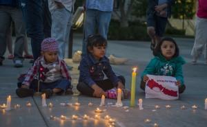nepal candlight vigil