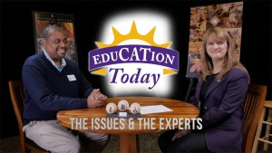"Raymond Doswell, vice president of the Negro Leagues Baseball Museum and 2015 alumni fellow, is the first guest on ""EduCATion Today."""