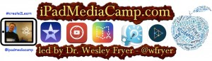 Register today for the iPad Media Camp workshop Aug. 2-4 in Bluemont Hall.