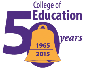 The College of Education is celebrating its 50th anniversary this year.