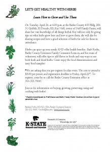Lets Get Healthy with Herbs Program - April 26 2016_Page_1