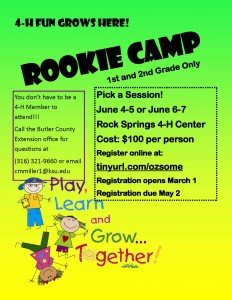 Rookie Camp Flier 1