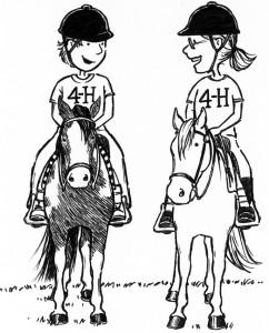 horse show 2 kids