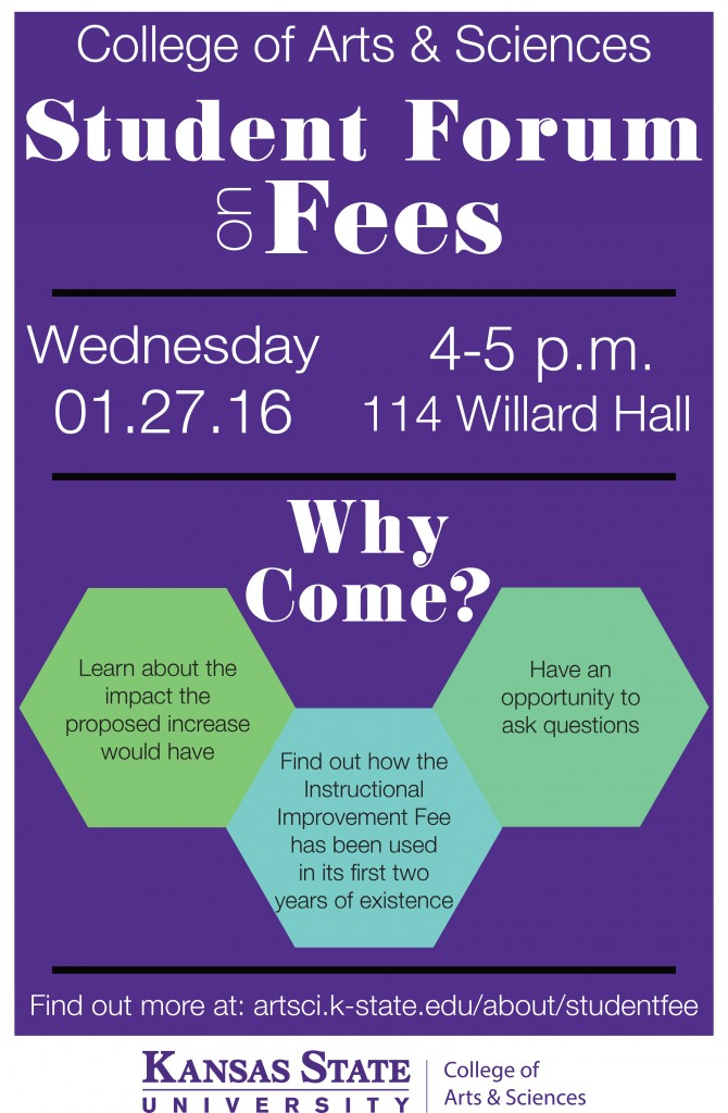A&S - Student Forum on Fees 3