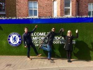 At Chelsea, Londodn